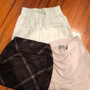 Athleta tennis skirts